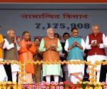 PM Modi inaugurates PM-KISAN scheme in UP