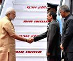 PM Modi leaves for Uzbekistan to attend the SCO Summit