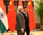 9th BRICS Summit - PM Modi meets Xi Jinping
