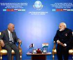 Astana (Kazakhstan): SCO Summit - Modi, Ashraf Ghani