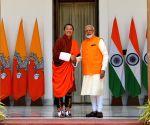 Modi meets Bhutan PM
