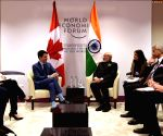 Davos (Switzerland): PM Modi meets Justin Trudeau
