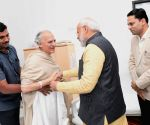 PM Modi meets Arun Shourie