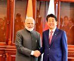PM Modi meets Japanese PM