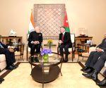 Amman (Jordan): PM Modi meets Jordan King Abdullah II