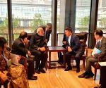 Qingdao (China): PM Modi meets President Battulga Khaltmaa