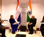 Davos (Switzerland): PM Modi meets Netherlands' Queen Maxima