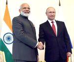 St. Petersburg: Modi meets Russian President