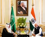PM Modi meets Saudi Arabian Environment, Water and Agriculture Minister