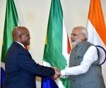 PM Modi meets President Jacob Zuma