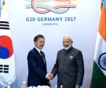 Modi meets South Korean President Moon Jae-in