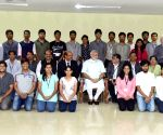 PM Modi meets Pune engineering students
