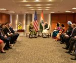 PM Modi meets Ivanka Trump on the sidelines of GES 2017