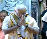 PM Modi offers prayers at Kashi Vishwanath Temple