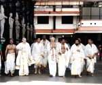 PM Modi offers prayers at Sri Krishna Temple in Kerala