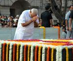 Modi pays homage to Mahatma Gandhi on his 147th birth anniversary