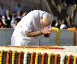 Mahatma Gandhi Birth Anniversary Prime Minister pays homage