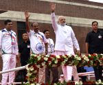 "PM Modi flags off ""Run for Rio"