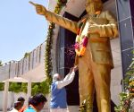 Modi pays homage to Ambedkar