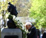 PM Modi pays tributes at Basaveshwara statue