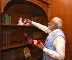 PM Modi pays tributes to Mahatma Gandhi and Sardar Patel