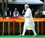 PM Modi pays tributes to Lal Bahadur Shastri