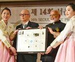 Seoul (South Korea): PM Modi receives Seoul Peace Prize