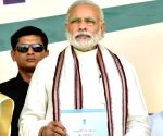 "Modi releases the ""New Mandate of Ministry of Panchayati Raj"