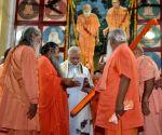 PM Modi unveils statue of Mahant Avaidyanath in Gorakhnath temple