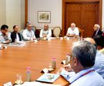 PM Modi chairs a review meeting on development of islands
