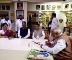 PM Modi visits Lokmanya Sewa Sangh