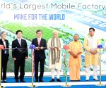 PM Modi, South Korean President at Samsung Electronics facility inauguration
