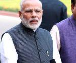 Narendra Modi at Parliament House