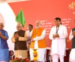 PM Modi lays foundation stone of various railway projects