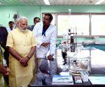 Modi visits the Central Drug Research Institute
