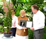 Modi visits National Orchid Garden