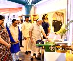 Modi inaugurates Textiles India 2017 Exhibition