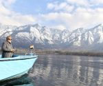 File Photos: Modi takes boat ride in Dal Lake