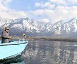 File Photos: Modi takes boat ride in Dal Lake