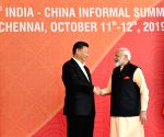 PM Modi welcomes Chinese President ahead of delegation level talks