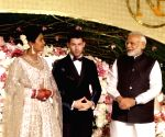 Priyanka Chopra, Nick Jonas' wedding reception  - Modi
