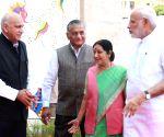 Modi inaugurates Pravasi Bharatiya Kendra