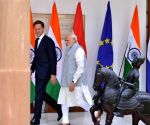Modi, Dutch PM at Hyderabad House