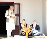Israeli PM visits Sabarmati Ashram