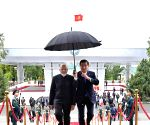 File Photos: PM Modi with Kyrgyzstan President