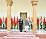 PM Modi with Belarus President at Hyderabad House