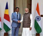 PM Modi, Seychelles President at Hyderabad House