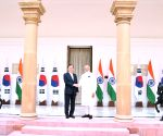PM Modi, South Korean President at Hyderabad House