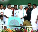 PM Modi meets TN CM, Ramadoss