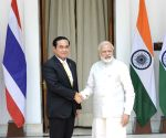 Narendra Modi-Prayut Chan-o-cha joint press conference